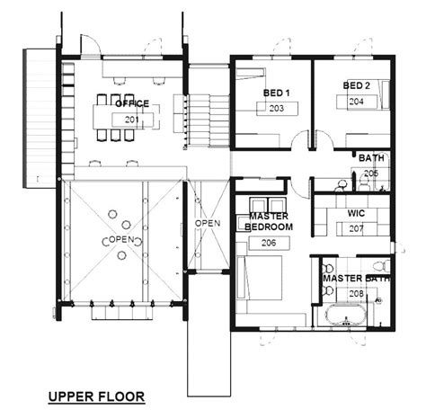 architectural design floor plans architectural home design plans modern house