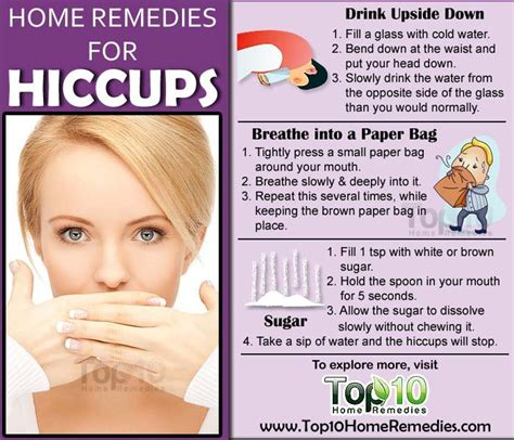 Home Remedies For Hiccups home remedies for hiccups top 10 home remedies