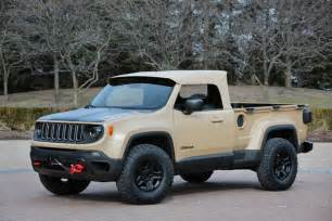 Jeep Renegade Concept Jeep Unleashes Its 2016 Easter Jeep Safari Concept