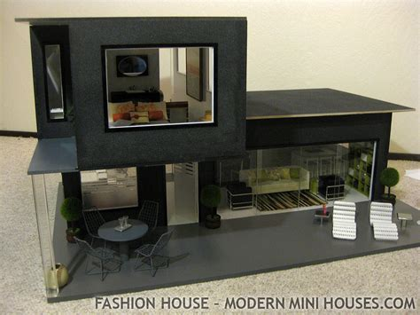 fashion doll houses fashion house modern dollhouse most furnishings and access flickr