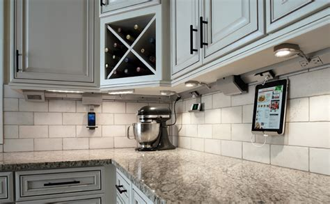 cabinet light with outlet legrand kitchen inspiration kitchen electrical kitchen lighting by legrand