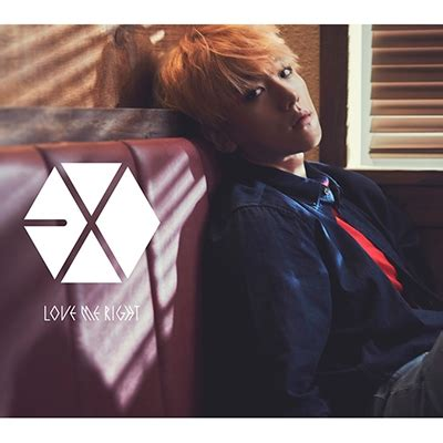 love me right romantic universe cddvd exo love me right romantic universe 初回盤 baekhyun ベクヒョン ver