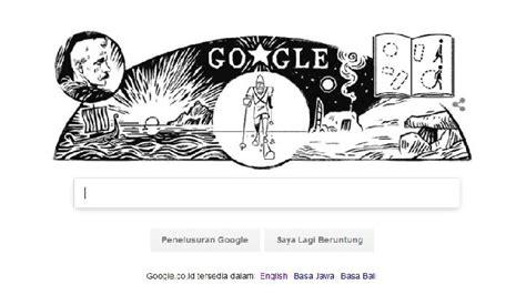 doodle nama dewi fridtjof nansen ilmuwan peraih nobel perdamaian tekno