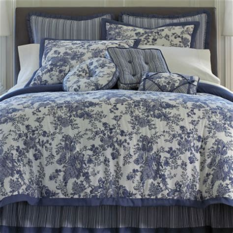 toile comforter set toile garden comforter set accessories jcpenney