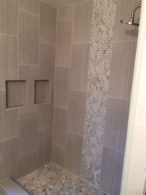 dusche mosaik 29 ideas to use all 4 bahtroom border tile types digsdigs