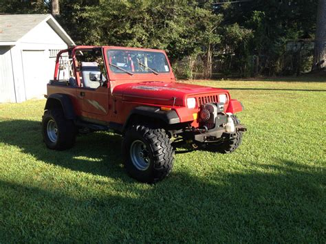 Chevy Jeep 1992 Jeep Wrangler Base Sport Utility 2 Door 350 Chevy