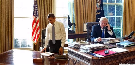 Trump Desk Vs Obama Desk | obama vs trump in cleanliness jpg 171 myconfinedspace