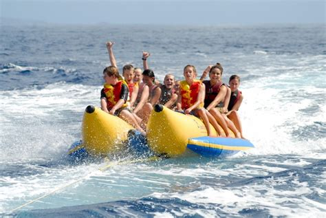 banana boat ride safe water toys luxury yacht charter superyacht news