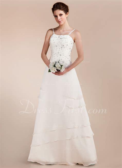 a linie tragerlos bodenlang spitze brautkleid mit perlen verziert p758 a linie princess linie herzausschnitt bodenlang chiffon