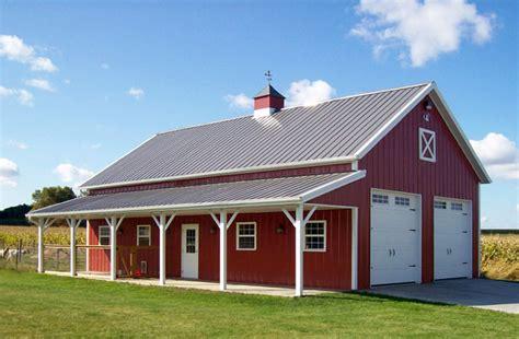 Red Barn Auto Salem Oh Garage Hobby Shop Building Lester Buildings