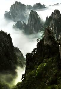 Lotus Peak Capital Yellow Mountain Mt Huangshan Tour Map Travel Tips