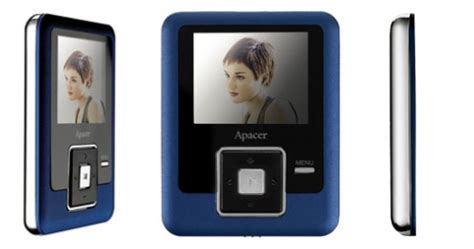 4 Audio Beograd by Mp3 Mp4 Player Apacer Audios Au824 4gb Plave Boje