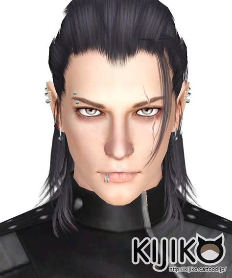 long hairstyles for men sims 4 nightingale for male kijiko