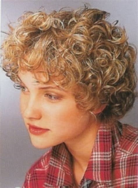 short curly perm styles picture dirty blonde very short curly permed hairstyles