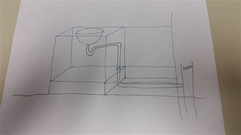 Sink Drain Slope by Proper Slope For Sink Drain Doityourself Community