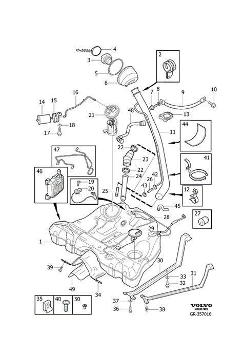 Volvo S60 Parts Diagram Volvo Parts Schematic Volvo Free Engine Image For User