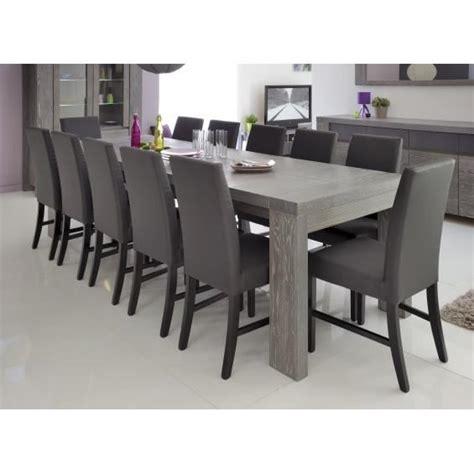 table salle a manger pas cher dayton table rectangulaire avec allonges achat vente