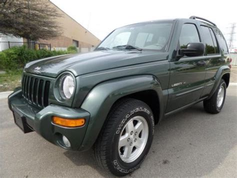 2003 jeep liberty limited edition 4x4 find used 2003 jeep liberty limited edition 3 7l v6 4x4