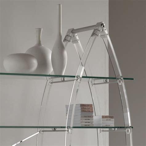 libreria autoportante libreria autoportante in plexiglass e vetro trasparente