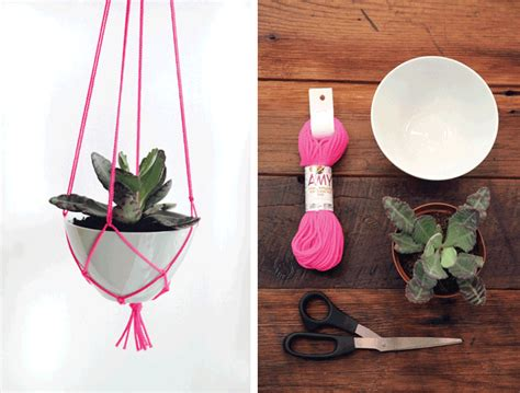 How To Make A Plant Hanger - diy macrame plant hanger 171 element australia