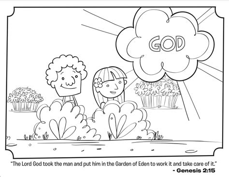 adam  eve bible coloring pages whats   bible