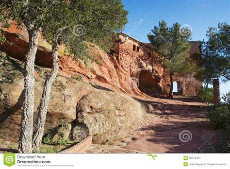 capilla de mare de deu de la roca en mont roig c espa 241 a foto de archivo imagen 52714417