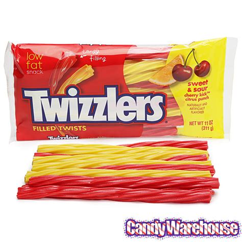 twizzlers sweet sour filled licorice twists 11 ounce