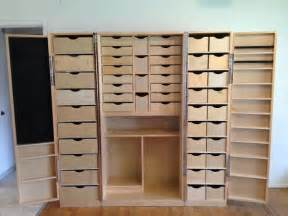 Salon Cabinets For Sale Scrapbook Cabinet And Workstation Joy Studio Design