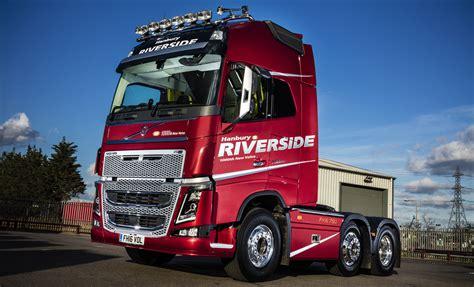 hanbury riverside celebrates   volvo  unique fh  fleet uk haulier