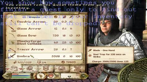 oblivion console commands usefull console commands on oblivion part 3