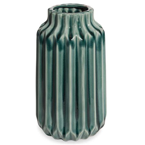 vasi maison du monde vaso in ceramica h 23 cm pliage maisons du monde