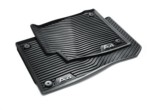 Audi Mats A4 by Audi A4 All Weather Floor Mats Front Rear 8w1061221041 Genuine Audi Accessory