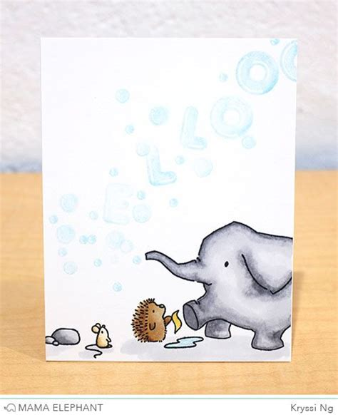 elephant cards 17 best images about elephant sts inspiration on