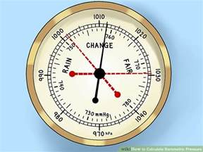Barometric Pressure How To Calculate Barometric Pressure 6 Steps With Pictures