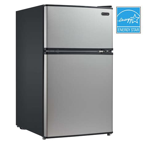 Freezer Mini Walls mrf 340ds whynter 3 4 cu ft energy stainless steel
