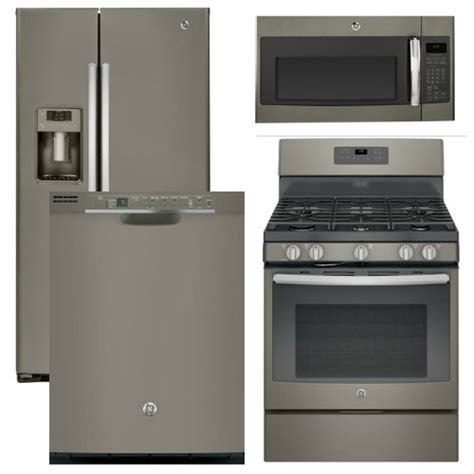 ge slate appliances package 37 ge appliance 4 appliance package with