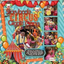 new storybook circus concept offers more details for 17 best images about scrapbooking cirque on