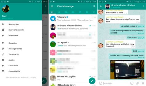 telegram plus apk plus messenger es disfrutar telegram al 120