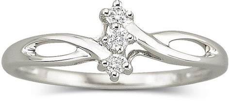 jcpenney jewelry accent promise ring sterling