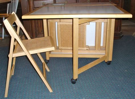 Folding Table With Storage For Chairs by Folding Table Chair Storage Folding Table Chair Gateleg