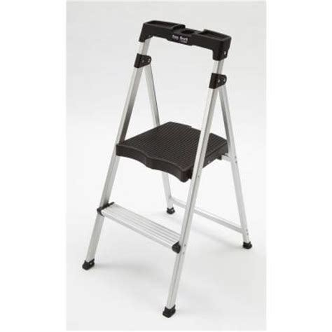 Easy Reach Project Stool by Easy Reach By Gorilla Ladders Ultralight Aluminum 2 Step