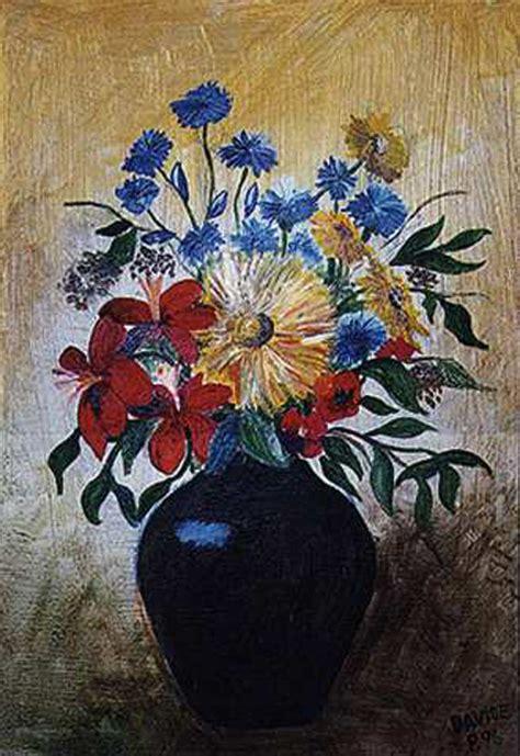 pittura fiori vaso di fiori altri soggetti