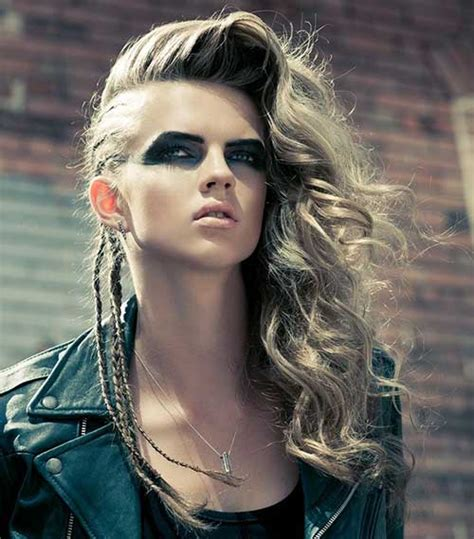 hairstyles for long hair rock chick punk hairstyles long hair hairstyles haircuts 2016 2017