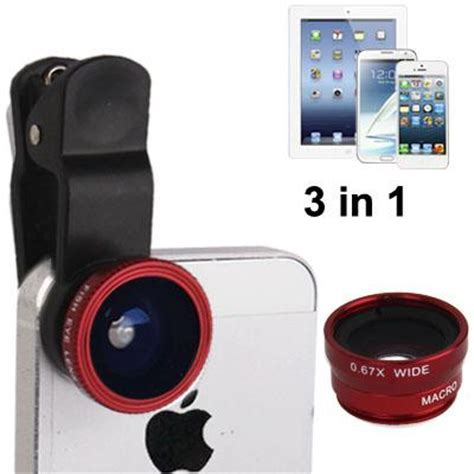 Clip Lens Universal buy new lieqi 3 in 1 universal clip lenses with fisheye