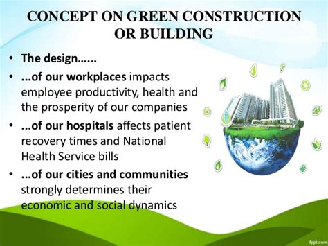 Green Building Ppt Green It Concept Ppt