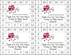 Punch Card Templates 8 Best Images Of Making Good Choices Printable Cards