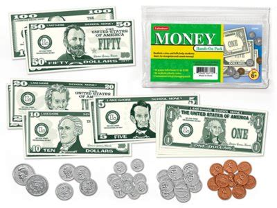 money hands  student pack  lakeshore learning