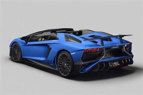 Lamborghini Aventador Price New Lamborghini Aventador Receive Convertible Sv Version For 2017