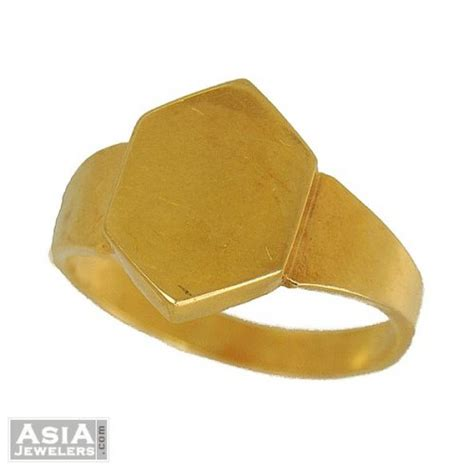 mens gold ring simple design ajri53683 us 289 22k