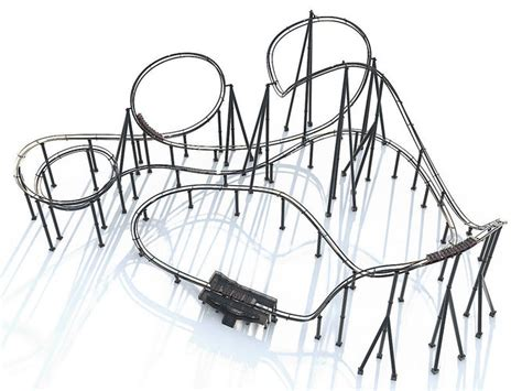 roller coaster design engineer job description roller coaster track and train 3d cgtrader
